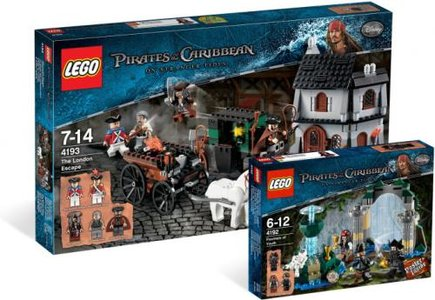 Lego Pirates of the Caribbean 5000027 Pirates of the Caribbean: On Stranger Tides Collection