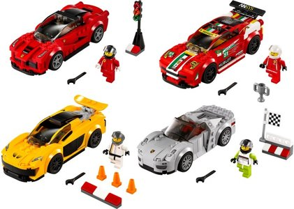 Lego Speed Champions 5004550 Speed Champions Collection