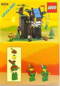 Lego Castle 6054 Forestmen's Hideout