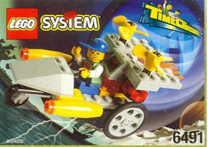 Lego Time Cruisers 6491 Rocket Racer