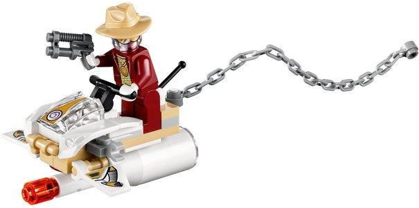 Lego Agents 70167 Invizable Gold Getaway