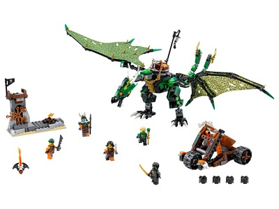 Lego Ninjago 70593 The Green NRG Dragon