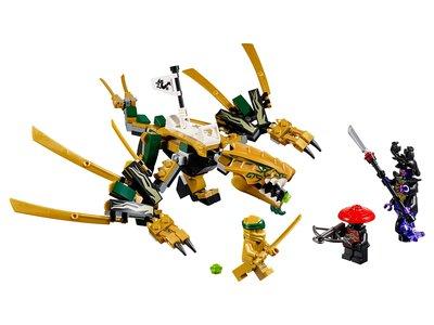 Lego Ninjago 70666 The Golden Dragon