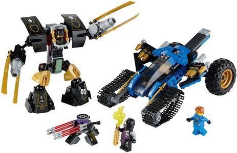 Lego Ninjago 70723 Thunder Raider