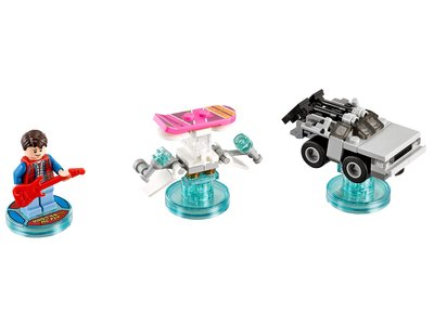 Lego Dimensions 71201 Back to the Future Level Pack