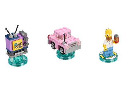 Lego Dimensions 71202 The Simpsons Level Pack