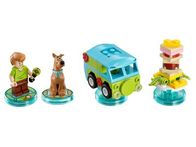 Lego Dimensions 71206 Scooby-Doo Team Pack