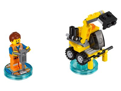 Lego Dimensions 71212 Emmet Fun Pack