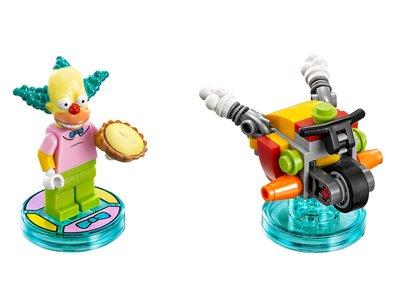 Lego Dimensions 71227 Krusty Fun Pack