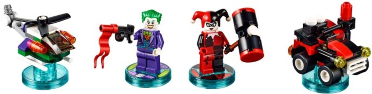 Lego Dimensions 71229 DC Comics Team Pack