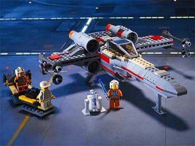 Lego Star Wars 7142 X-wing Fighter (re-release of 7140)