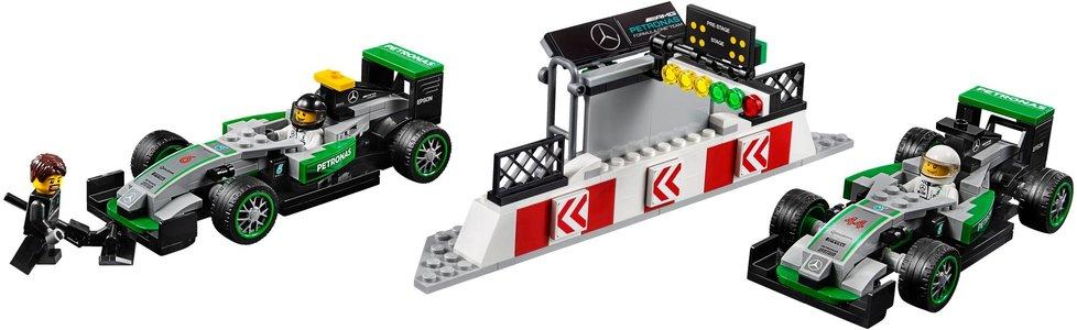 Lego Speed Champions 75883 MERCEDES AMG PETRONAS Formula One Team