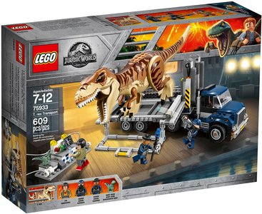 Lego Jurassic World 75933 T-Rex Transport