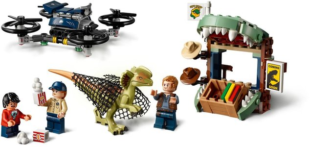 Lego Jurassic World 75934 Dilophosaurus on the Loose