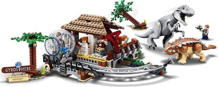 Lego Jurassic World 75941 Indominus rex vs. Ankylosaurus