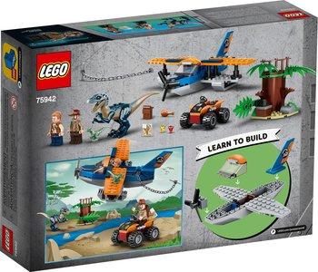Lego Jurassic World 75942 Velociraptor: Biplane Rescue Mission