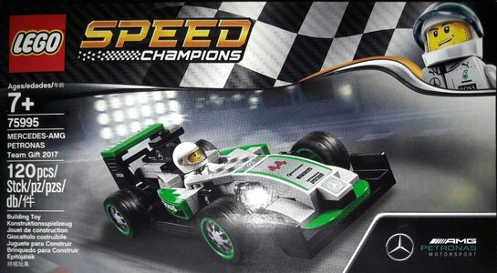 Lego Speed Champions 75995 MERCEDES-AMG PETRONAS Team Gift 2017