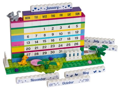 Lego Gear 850581 Friends Brick Calendar