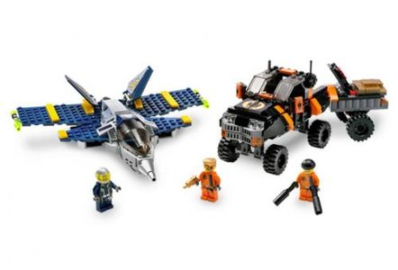 Lego Agents 8630 Mission 3: Gold Hunt