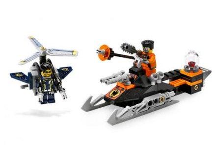 Lego Agents 8631 Mission 1: Jetpack Pursuit