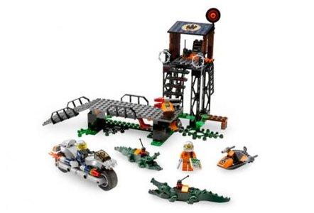 Lego Agents 8632 Mission 2: Swamp Raid