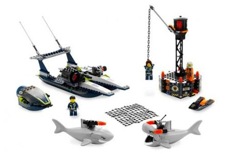Lego Agents 8633 Mission 4: Speedboat Rescue