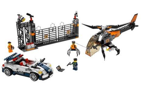Lego Agents 8634 Mission 5: Turbocar Chase