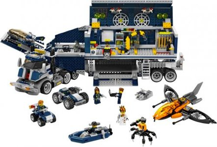 Lego Agents 8635 Mission 6: Mobile Command Center