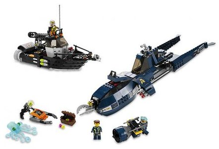 Lego Agents 8636 Mission 7: Deep Sea Quest