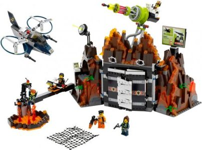 Lego Agents 8637 Mission 8: Volcano Base