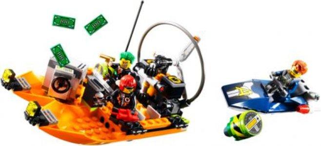 Lego Agents 8968 River Heist