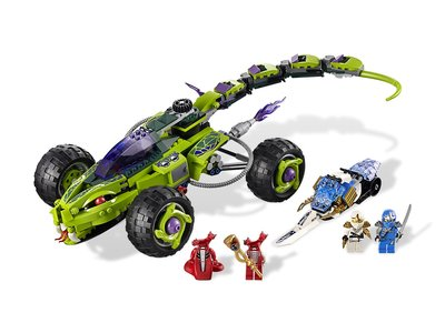 Lego Ninjago 9445 Fangpyre Truck Ambush