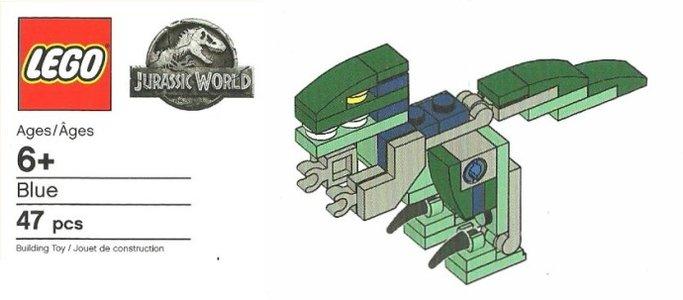 Lego Jurassic World BLUE Blue