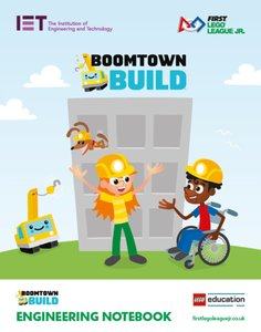 Lego FIRST LEGO League FLLJNOTEBOOK2019 Boomtown Build Engineering Notebook