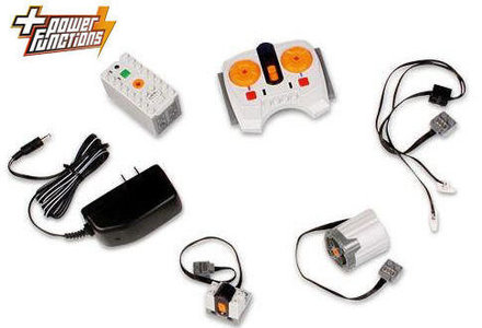 Lego Power Functions K8882 Power Functions Train Accessories Pack