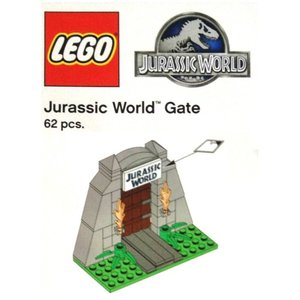 Lego Jurassic World TRUJWGATE Jurassic World Gate