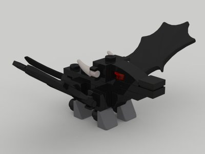 Lego Ninjago TRUNINJAGO Micro Morro Dragon