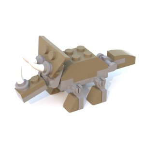 Lego Jurassic World TRUTRICERATOPS Triceratops